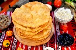 Scovergă brânză sărată, mărar, măsline image