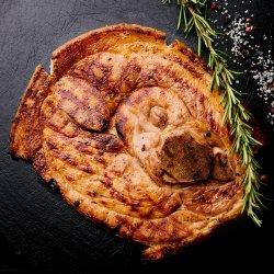 Flinstone steak (pulpă de porc cu os) image