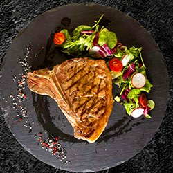 T-bone steak image