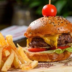 Steak burger Wagyu   image
