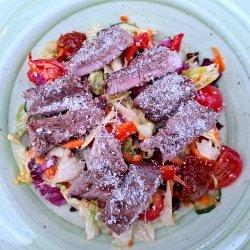Salată cu mușchi de vită image
