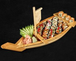Flying Dragon - 31 Piese (Sushi Boat) image