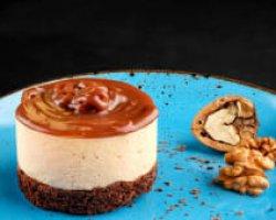 Caramel cheesecake image