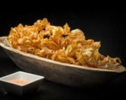 Potato chips boat image