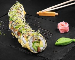 Veggie Tempura (Sushi Roll) image