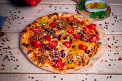 Pizza 1+1 - Mexicană image