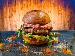 Pork`n Bacon Burger