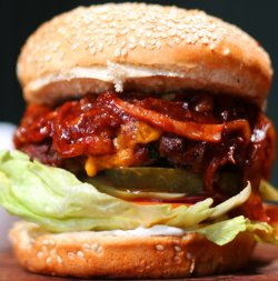 Smokey BBQ Bacon Burger image