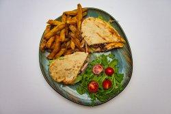 Ribs sandwich image