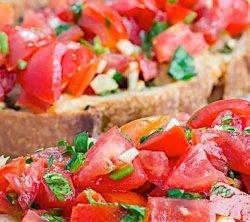 Bruschette al pomodoro image