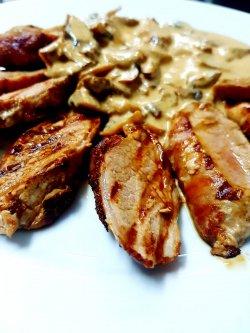 Filetto di maiale ai funghi image