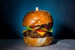 Lentils Veggie Burger image