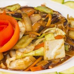 Rau xào xì dầu /Legume în sos de soia  image