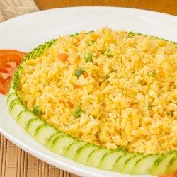 Cơm rang rau / Orez prăjit, cu legume image
