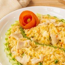 Cơm rang thịt gà/Orez prăjit cu carne de pui image