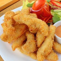 Gà tẩm bột Hà Nội /Pui Hanoi cu salată  image