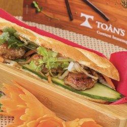 Bánh mì thịt bò/ Bánh mì cu carne de vită  image
