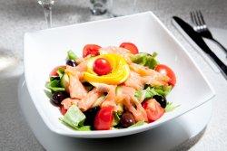 Salată somon fume image