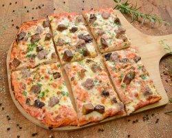 Pizza Salsiccia e Funghi image