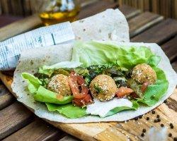 Amazing veggie wrap