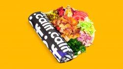 Kebab clasic de pui cu salate în lipie image