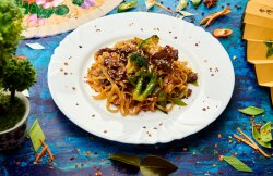 Beef Chow Fan Noodles image