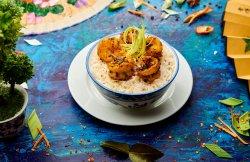 Chilli Garlic Shrimp + Rice image