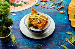 Fish Curry + Rice image