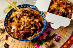 Noodles + Vită Kaju image
