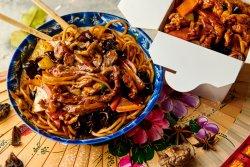 Noodle + Oaie pe plită încinsă image