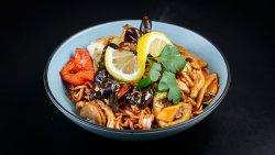 Noodles + Pui cu legume image