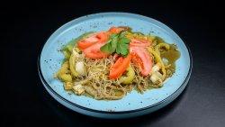 Spaghete de orez călite image