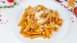 Cartofi prăjiți cu usturoi și parmezan image