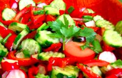 Salată mixtă de vară
