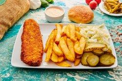 Meniu extra crispy fish image