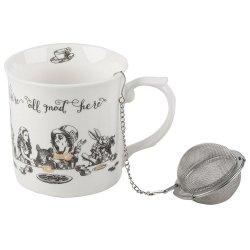 Cana cu infuzor - Alice in Wonderland