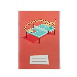 Caiet dictando A5 Girafa Ping Pong - Paula Rusu