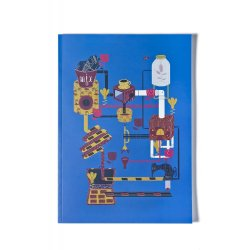 Caiet matematica A4 Fabrica de Ciocolata - Kadna