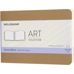 Carnet pentru schite - Moleskine Art - Kraft Brown