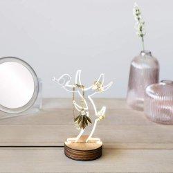 Lampa - Wood/Acrylic - Light Tree
