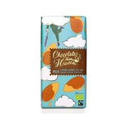 Ciocolata cu lapte si caramel - Chocolates from Heaven  Bio