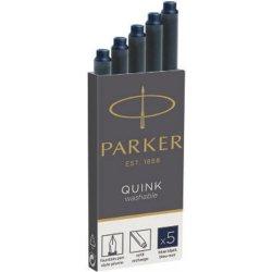 Set 5 rezerve cerneala lungi - Albastru inchis - Quink