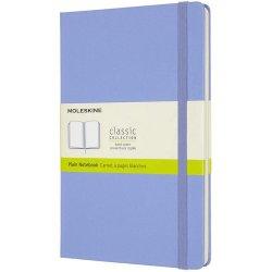 Carnet Moleskine - Hydrangea Blue Large Plain Notebook Hard