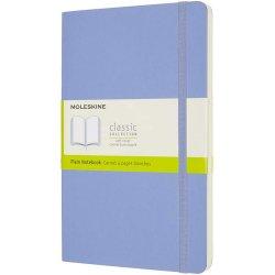 Carnet Moleskine - Hydrangea Blue Large Plain Notebook Soft
