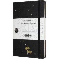 Carnet - Moleskine - Harry Potter - Deathly Hallows- Black