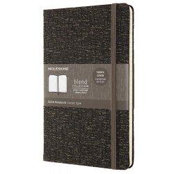 Carnet - Moleskine Blend - Large, Hard Cover, Ruled - Brown