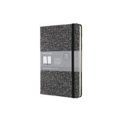 Carnet - Moleskine Blend - Large, Hard Cover, Ruled - Grey
