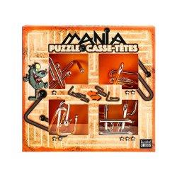 Set de 4 Puzzle-uri 3D - Mania Casse-Tetes - Orange