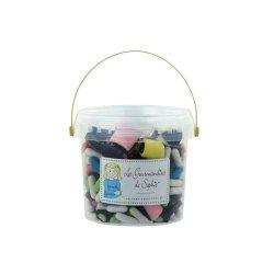 Galetusa cu bomboane cu aroma de lemn dulce asortate - Reglisses assortis