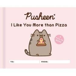Pusheen: I Like You More than Pizza